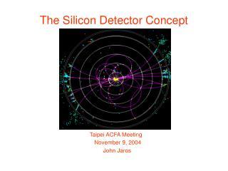 The Silicon Detector Concept