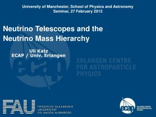 Neutrino Telescopes and the  Neutrino Mass Hierarchy