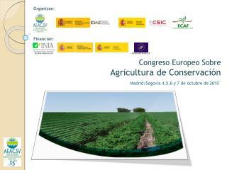 Congreso Europeo Sobre  Agricultura de Conservación