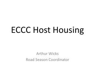 ECCC Host Housing