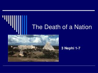 The Death of a Nation