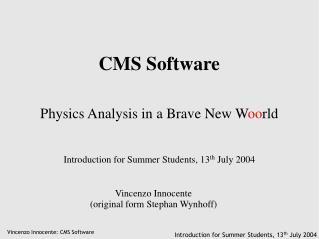 CMS Software