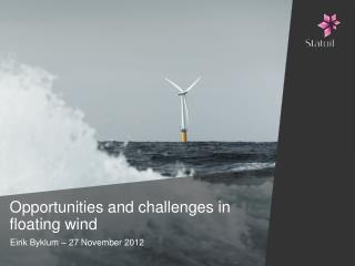 Opportunities and challenges in floating wind