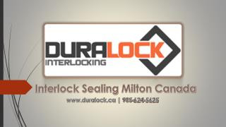 Interlock Sealing Milton