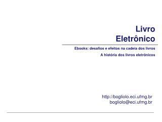 Livro  Eletrônico