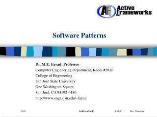 Software Patterns