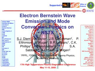 Electron Bernstein Wave Emission and Mode Conversion Physics on NSTX