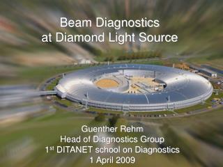 Beam Diagnostics at Diamond Light Source