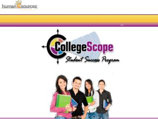Overview CollegeScope Webinar
