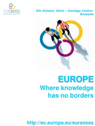 EUROPE Where knowledge  has no borders
