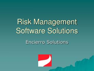 Risk Management Software Solutions