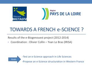 Towards  a french    -Science ?