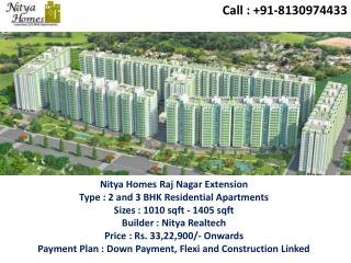 Splendid Architecture @8130974433 Nitya Homes Raj Nagar Ext