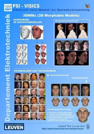 3DMMs (3D  Morphable  Models)