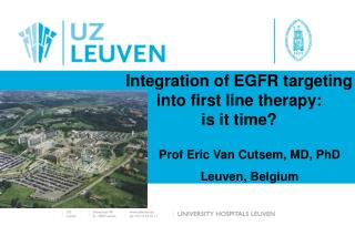 Integration of EGFR targeting  into first line therapy:  is it time?