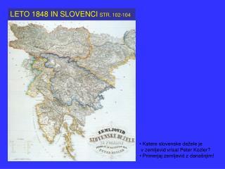 LETO 1848 IN SLOVENCI STR. 102-104