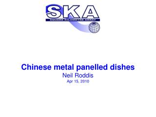 Chinese metal panelled dishes Neil Roddis Apr 15, 2010