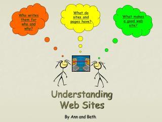 Understanding  Web Sites