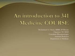 OSCE Teaching: Session 8