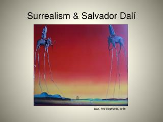 Surrealism & Salvador Dal í