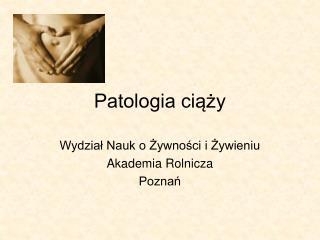 Patologia ciąży