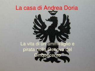 La casa di Andrea Doria