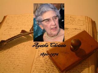 Agatha Christie 1890-1976