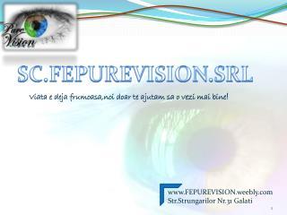SC.FEPUREVISION.SRL