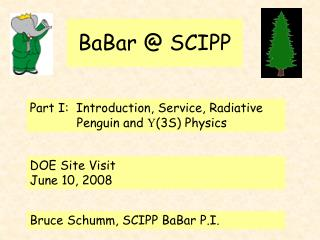 BaBar @ SCIPP