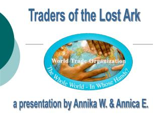Traders of the Lost Ark