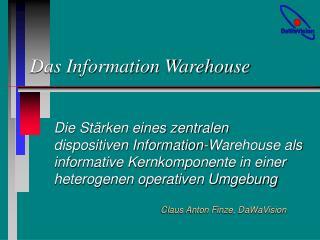 Das Information Warehouse