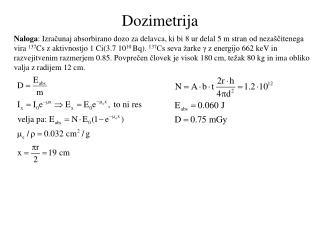 Dozimetrija