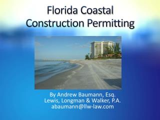 Florida Coastal Construction Permitting