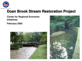 Doan Brook Stream Restoration Project