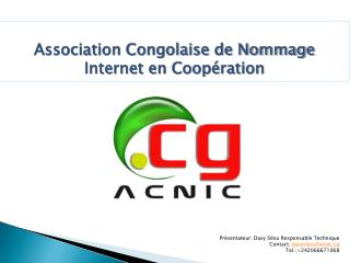 Association Congolaise de Nommage Internet en Coopération