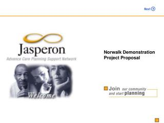 Norwalk Demonstration  Project Proposal