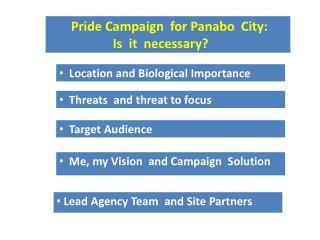 Profile 25,123.00 ha  Land Area 8,900 ha Municipal Waters 40 barangays 4 coastal barangays