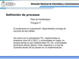Dirección Nacional de Informática y Comunicaciones
