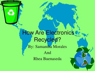 How Are Electronics Recycled?