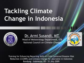 Tackling Climate Change in Indonesia