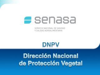 DNPV Dirección Nacional de Protección Vegetal