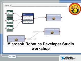 Microsoft Robotics Developer Studio workshop