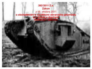 392/2011 Z.z. Zákon z 19. októbra 2011
