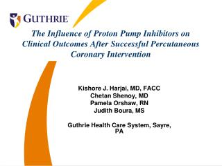 The Influence of Proton Pump Inhibitors on Clinical Outcomes After Successful Percutaneous Coronary Intervention