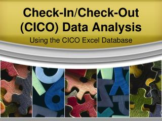 Check-In/Check-Out (CICO) Data Analysis