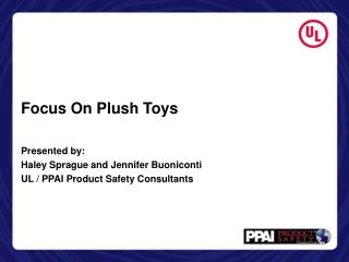 Focus On Plush Toys