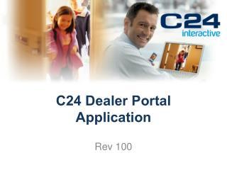 C24 Dealer Portal Application
