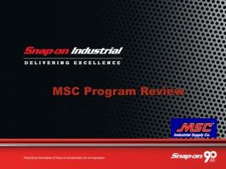 MSC Program Review
