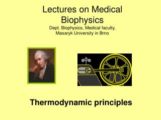 Thermodynamic principles