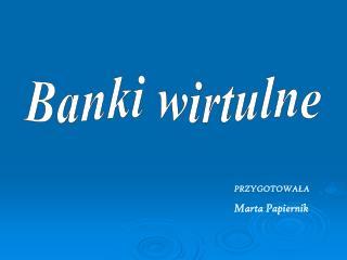 Banki wirtulne